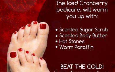 Iced Cranberry Pedicure